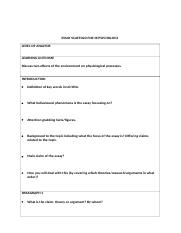 essay scaffold in table for IB psychology.docx