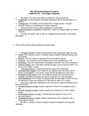 BIO 204 Review Sheet for Exam IV_Chap_24
