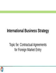IBS 2016-17 Sem2 Topic 5e - Contractual Agreements (S).pptx