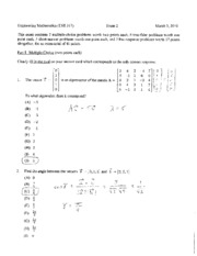 exam 2 spring 2010 solutions