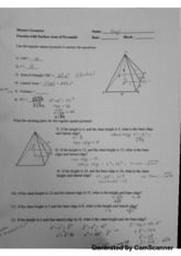 pyramids and cones hw key