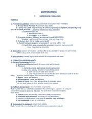 LAW 335 Study Guide Exam 3