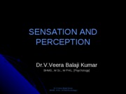 Sensation and perception open univ