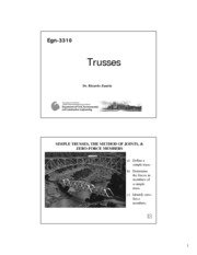 RZEGN3310 (Spring) cH6-tRUSSES