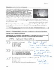 CHEM 116 Exam 1 answer key
