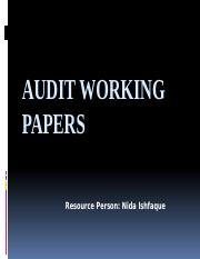 AUDIT WORKING PAPERS.pptx