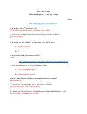 Eisenhower Era Study Guide (1)