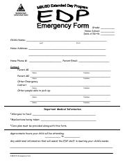 3 Emergency Form 2015-16