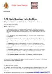 static value problems