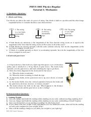Tutorial Quesions 2
