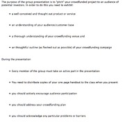 Group Presentation Guidelines