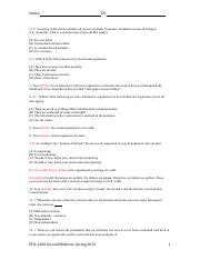answer key phil 1200 second midterm Spring 2015