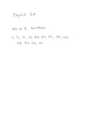 Physics Homework 3