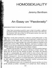 bentham and mill utilitarianism essay