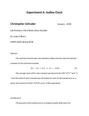 physical chemistry Experiment A.docx