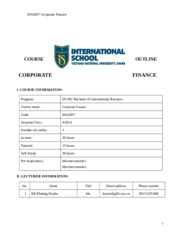 Syllabus.INS2007 Corporate Finance.Do Phuong Huyen.EN.28.8.2014