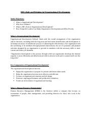 HR's Role in Organizational Development.docx