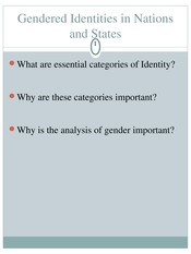 WGSS 1124 - Gendered Identities in Nations and States(1)
