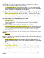 MedSurg Final Exam Review (1) - Med/Surg Final Exam Review A patient
