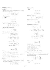Homework 17 Solution Winter 2008 on Ordinary Differential Equations