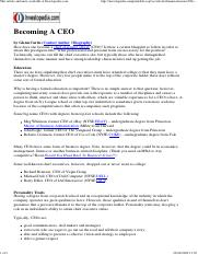 [Investopedia] Becoming A CEO.pdf