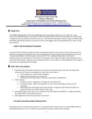 SFSU Internship Fact Sheet-Student