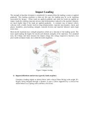 Impact Loading and thermal stresses notes.pdf