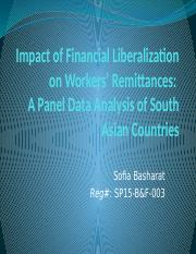 Impact of Financial Liberalization on Workers' Remittances.pptx