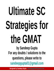 Sentence Correction - the best resource for GMAT SC.ppt