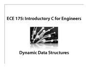 C-Dynamic Data Structures