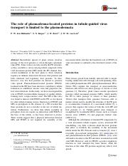Role of Plasmodesma-Located Proteins.pdf