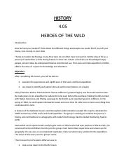 4.05 HEROES OF THE WILD.odt