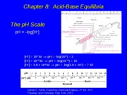 Lecture 8. AcidBases