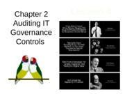 Chap02 Lesson4 Auditing IT Governance Controls