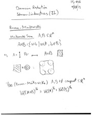 Class notes - dimension reduction