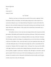 Into the Wild In-Class Essay.docx
