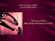 Earth Science 1083 Powerpoint 1