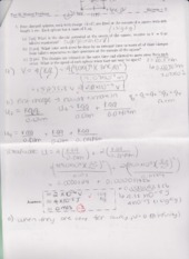 Physics 1302B Practise Midterm with Answers
