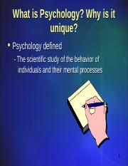 Intro to Psychology 1 Course Introduction.ppt