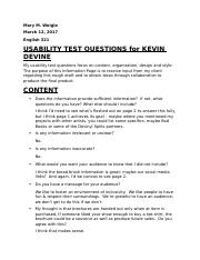 USABILITY TEST QUESTIONS FOR KEVIN DEVINE (ANSWERED).docx
