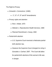griswold vs connecticut essay Griswold would lay the foundation for a series of other cases on individual freedoms related  griswold v connecticut no 496 argued march 29-30, 1965 decided .