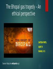 The Bhopal gas tragedy – An ethical perspective.pptx