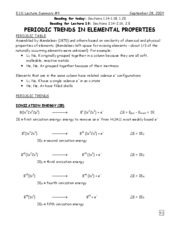 9-Periodic Trends in Elemental Properties