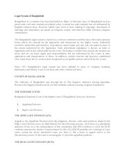 Legal system of Bangladesh (1).docx