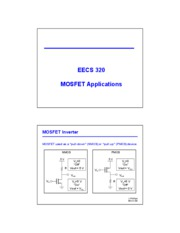 21 - MOSFET Applications