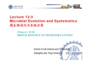 16-2 Lecture 12-3 Evolution, Systematics and Taxonomy