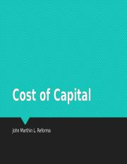 REFORMA-COST-OF-CAPITAL.pptx