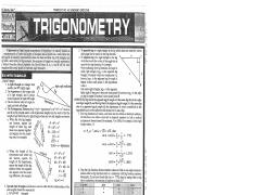 TRIG SUMMARY SHEET