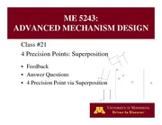 Lecture 21 on Advanced Mechanism Design