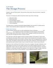 The_Design_Process